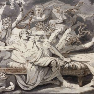 Oreste Harassed by the Erinyes