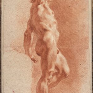 Standing Male Nude with his Right Arm Raised