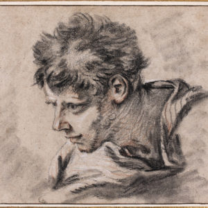 Study of the Head of a Young Man