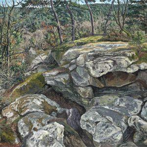 Le Long rocher de la grotte Béatrix