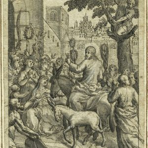 The Entry of the Christ into Jerusalem