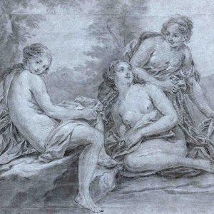 Three Woman Bathing (Diana and Callisto?)