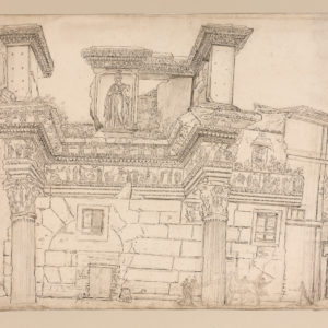 The Temple of Minerva in the Forum of Nerva